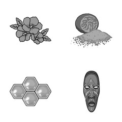 travel, beekeeping and other monochrome icon in cartoon style.cooking, museum icons in set collection.