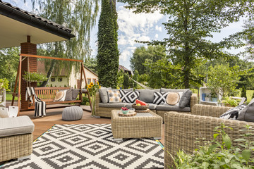 Perfect place for garden party