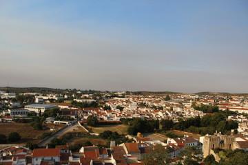 panorama castel estremoz portugal