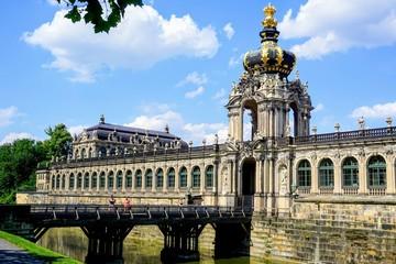 Der Zwinger in Dresden von Außen