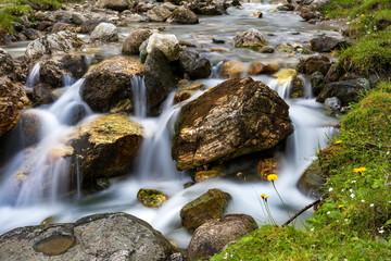 Landschaft Natur Bach Wasser