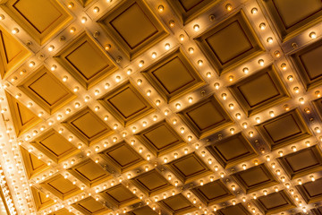 Marquee Lights on Theater Ceiling