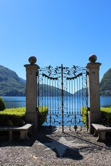Porte Lugano lac 1 - Lugano Lake Gate