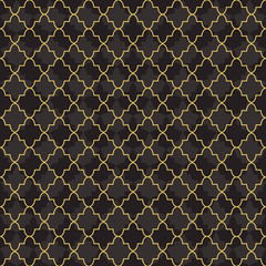 Islamic gold background abstract decoration texture