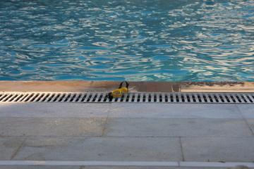 swimming pool relaxing