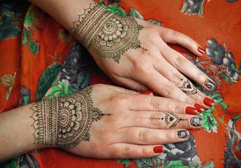 henna tattoo mehendy drawing