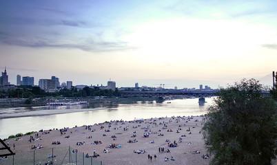 Relaks nad Wisłą w Warszawie