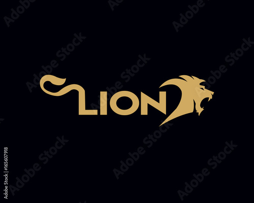 lion creative logo