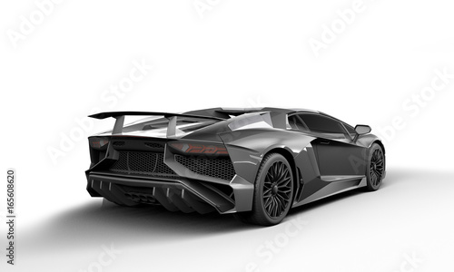Extreme Sport Cars On White Background