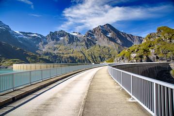 Kaprun Hochgebirgsstauseen, Salzburger Land, Austria