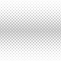 Seamless monochrome horizontal circle pattern