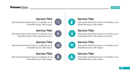 Services Slide Template