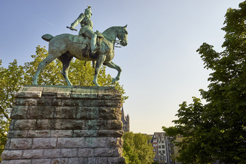 Equestrian Statue of Kaiser Wilhelm I, Cologne, Germany
