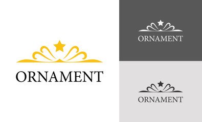 Ornament decoration logo