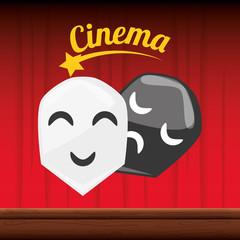 cinema short film with genres scene