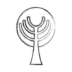 Tree eco symbol