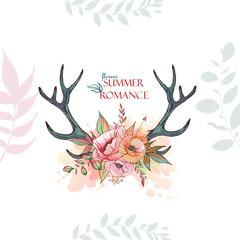 summer romace deer