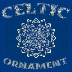 Decorative Celtic ornament for your designs