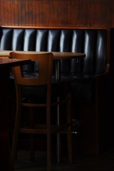 Empty place in a bar
