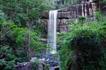 """Water fall, """"Soy Sa Wan Water Fall"""" in Ubonratchathani Province."""