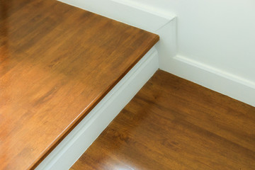 Keuken foto achterwand Trappen wood staircase