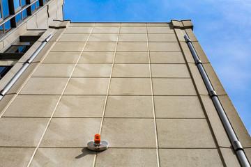 Signalleuchte Hochhaus Außenfassade Signal