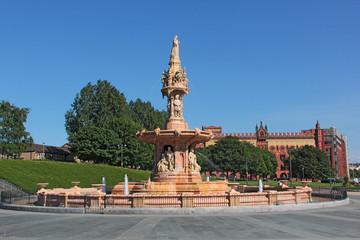 Belle fontaine à Glasgow