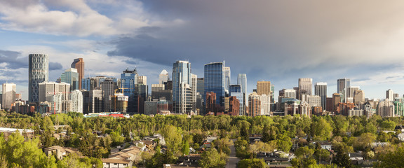 Calgary - panorama of city