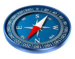 Compass 3D illustration
