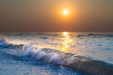 Sunrise. Beautiful sunrise Black sea. Gold sea sunrise. Picture Sea sunrise. Sea sunrise background. Amazing sea sunrise picture. sunrise sea waves. Little Noise.
