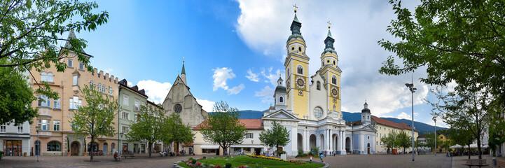 Panorama Dom & Domplatz in Brixen / Südtirol
