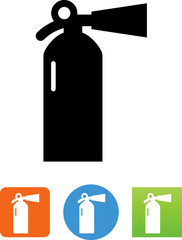 Fire Extinguisher Icon -  Illustration