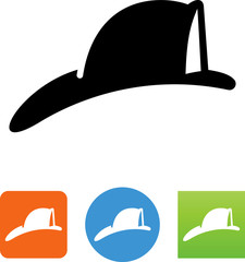 Fireman's Hat Icon -  Illustration