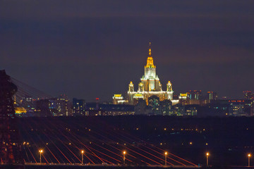 Night city (Moscow)