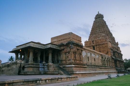 Brihadishvara temple,  Thanjavur (Tanjore), UNESCO World Heritage