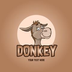 Donkey Character Illustration