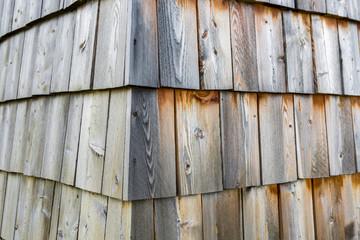 Holzverkleidung Schindel