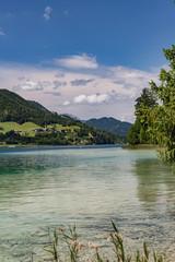 Bergsee in Österreich Weisensee