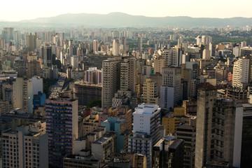 São Paulo vista do Edifício Copan