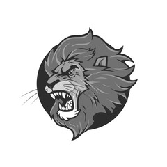 Lion Mascot Character Illustration