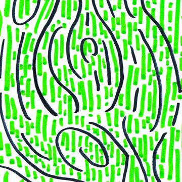 Lime green pattern