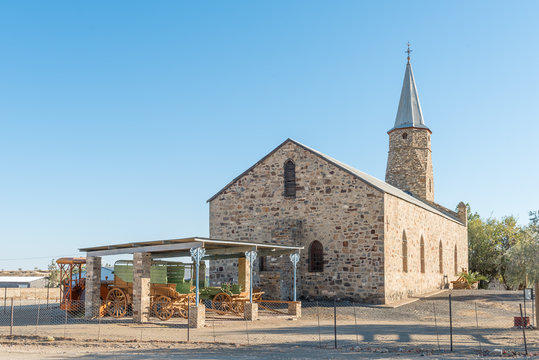 Rhenish Mission Church in Keetmanshoop,  now a museum