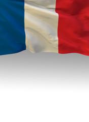 France, French Flag (3D Render)