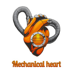 Mechanical Heart Without a Background