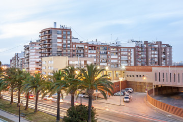 Wall Mural - Residential buildings in Cartagena, Spain