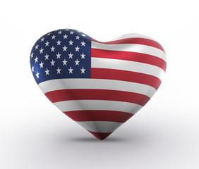 United States, USA Flag (3D Render)