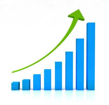 Graph Arrow Upwards Chart