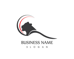 Panther Head Logo Design