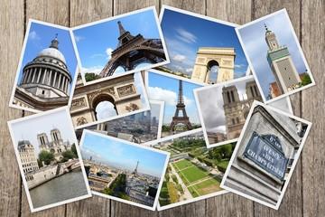 Paris - travel collage