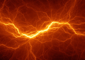 Burning plasma lightning, hot energy